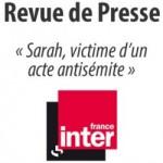 Témoignage de Sarah, victime d'un acte antisémite – France Inter